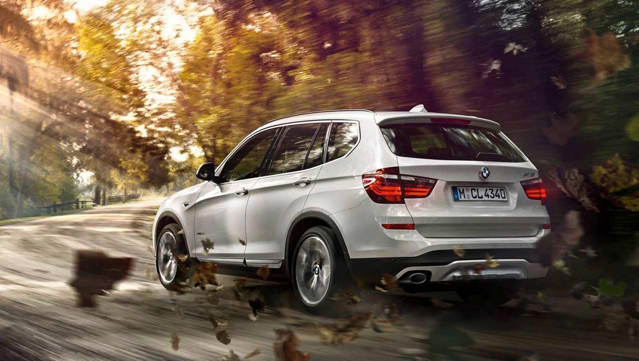 2015-BMW-X3-Bentuk-Belakang